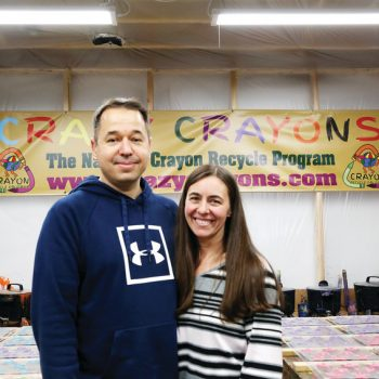 Martonisi owner of Crazy Crayons