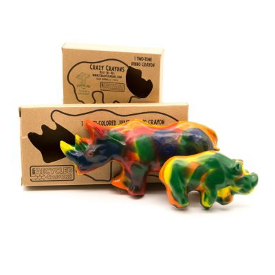 Recycled Crayons By Size